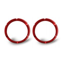 KC | FLEX SERIES RINGS (BEZELS) PAIR | RED