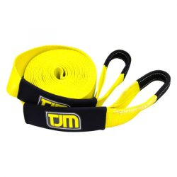 TJM SNATCH STRAP 8000 KG, 20% ELONGATION, DIMENSION 60MM X 9 MTRS