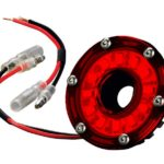 KC | 2″ CYCLONE LED LIGHT SINGLE | RED