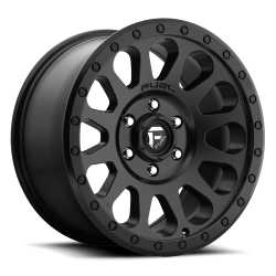 D582 | TURBO 6 | GLOSS BLACK MILLED