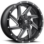 FUEL | RENEGADE BLACK MILLED | D594