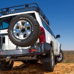 ARB | SPARE TIRE CARRIER RIGHT SIDE  | LC 100 LC 200 Y61