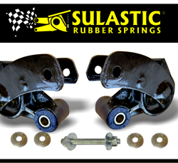 SULASTIC | RUBBER SPRING SHACKLES | F150 2015-2018