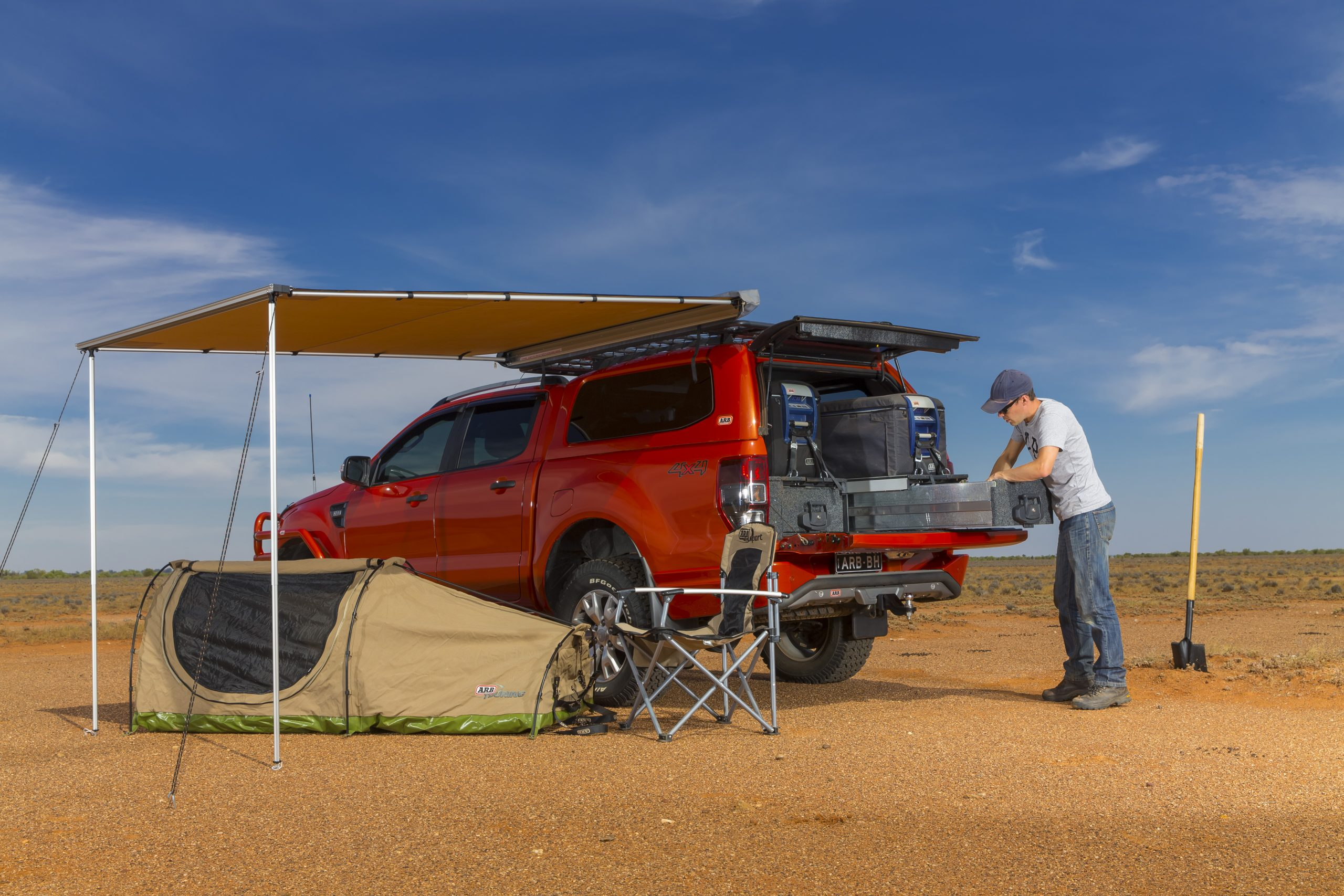 ARB | AWNING PVC | 2500 X 2500 | Off Road Performance