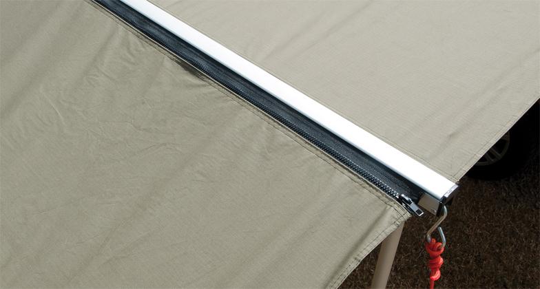 RHINO RACK | EXTENSION ADAPTOR ZIPPER FOR SUNSEEKER 2.5M ...